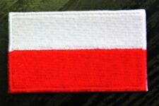POLAND Polish Country Flag Embroidered PATCH Badge *NEW*