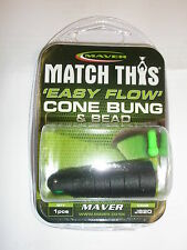 Maver Easy Flow Cone Bung Elastic rolling puller system Fishing tackle