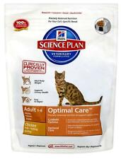 Hill's Science Plan Feline Optimal Care Adult Chicken 400g Dried Complete Food