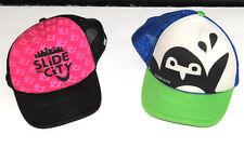 Slide the City Penguin Urban Water Slide Party Trucker Snapback Hat Cap Meshback