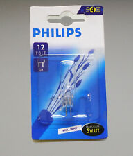 5 x Philips Halogen Halogenlampe Stiftsockellampe G4 5W 5 W Watt 12V klar NEU