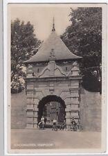 Netherlands; Schoonhoven, Veerpoort RP PPC 1936 PMK, Group of Boys on Bikes