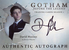 Gotham Season 1 Autograph Card DM David Mazouz as Bruce Wayne