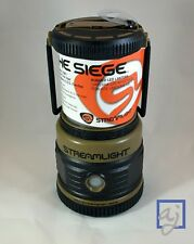 Streamlight Siege Coyote LED Lantern 44931 - White/Red LED, Waterproof + Floats!