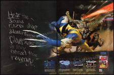 X-MEN__Original 1993 Print AD / Sega Genesis game promo__Marvel Comics advert