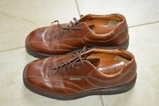 MEPHISTO Goodyear Welt Leather Lace-Up Bicycle Toe Oxfords Size 8.5 Men's Brown