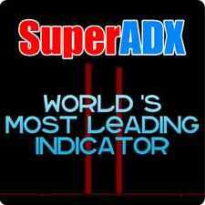 ►SuperADX Indicator Tradestation Metatrader MT4 FOREX STOCKS FUTURES Trading ►