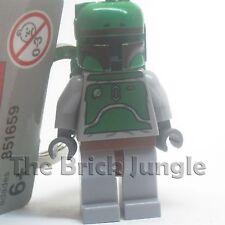 Lego Star Wars minifig boba fett keyring keychain clone yoda c3po r2d2 chewbacca