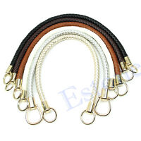 Fashion DIY Round Shoulder Bags Replacement Purse Handle Handbag Strap