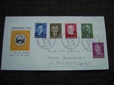 FDC E 16 - E16 Zomerzegels 1954 adres
