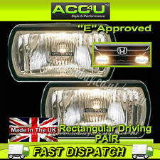 Ring RL022 12v Car 4x4 Van Rectangular Driving Halogen Spot Lamps Lights - Pair