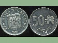 EQUATEUR  50 sucres  1991