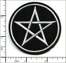 30 Pcs Embroidered Iron/Sew on patches Star 6.5x6.5cm AP037fA