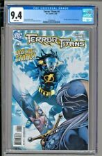 Terror Titans #4 - CGC 9.4 - 1st Appearance of Static Shock in DCU Continuity