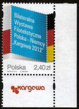 POLAND MNH 2012 Polish-German Stamp Exhibition KARGOWA