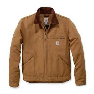 Carhartt Duck Detroit Jacket - Brown