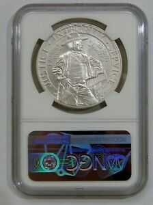 2015 P- U.S. Marshals Service Commemorative Silver Dollar - NGC MS 70