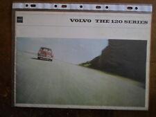 VOLVO 120 SERIES orig 1966 UK Mkt Prestige Sales Brochure - 121 122 122S Amazon