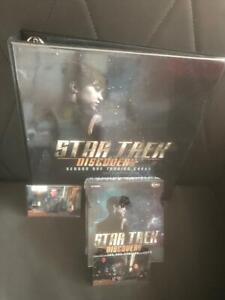 STAR TREK DISCOVERY SEASON 1 FACTORY SEALED BOX (24 PACKS) WITH BINDER++