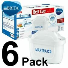 6 x BRITA Maxtra+ Plus Water Filter Jug Replacement Cartridges Refills - Genuine