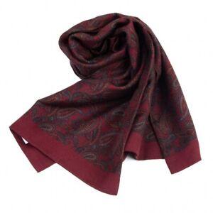 COMME des GARCONS HOMME Paisley Silk Wool Stole(K-96641)