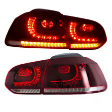 E-MARK LED Feu arrière Pour 08-14 Golf 6 MK6 GTI GTD R séquentiel Feu ArrièreR+L