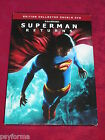 Double DVD SUPERMAN RETURNS / Edition collector double DVD / Comme neuf !!