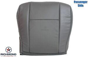 2009-2014 Ford Econoline Van -Passenger Side Bottom Vinyl Seat Cover Gray
