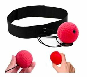 KWOW Boxing Reflex Ball Boxing Training Speed Ball with Headband Sport Exercise