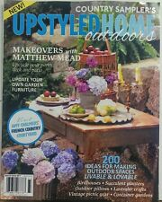 Country Sampler's Upstyled Home Outdoors 2017 Living Gardens FREE SHIPPING sb