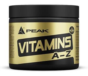 Peak Vitamins A - Z - 180 Tabletten - Vitamine und Mineralien - Multivitamin A/Z