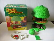 Vintage Kenner Tree Tots Family Tree House Toy Lot