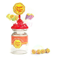 Dollhouse Miniature Lollipop Candy Chupa chups Bottle 1:12 Accessories Toy Decor