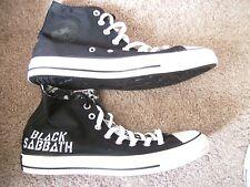 Converse All Star Chuck Taylor Black Sabbath Edition, Men's 9.5, Women's 11.5