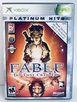 Fable The Lost Chapters (Microsoft Xbox, 2004) - Complete with Manual!