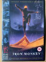 Iron Monkey DVD 1993 HKL Hong Kong Legends Martial Arts Film Movie Classic