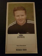 AUTOGRAMMKARTE / AUTOGRAPHCARD Rune Skarsfjord Rosenborg BK