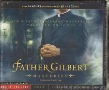 New! FATHER GILBERT MYSTERIES COLLECTOR'S EDITION Radio Theater 10-CD Set FOTF