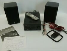 Yahama CRX-D430 + Speakers NX-E700 with remote control iPod Dock, CD, DAB Radio
