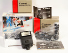 MINTY CANON A-1 CAMERA Body in BOX + MA Motor DRIVE and 177 Flash All Boxes EX++