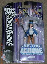 DC Superheroes Justice League Unlimited ZATANNA  Purple Card