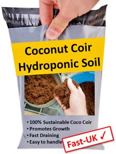 Hydroponic Coconut Coir Soil Blocks - Grow Medium - 1-22 Litre Quantities