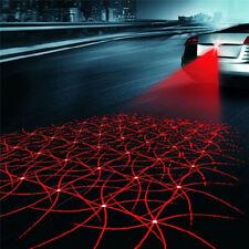 Car Motorcycle Anti-Collision Laser Light LED Red Fog Tail Brake Warning Lamp