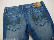 Diesel Women's Faded Flared, Kick Flare Jeans