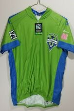 MLS Seattle Sounders Womens Secondary Short Sleeve Vomax Jersey, Large A2