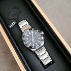 Christopher Ward C60 Trident GMT 600 42mm Automatic Watch Stainless(Open Box)