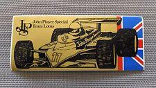 Autocollant Vintage « John Player Spécial Team Lotus » Très Bon Etat.