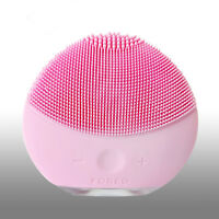 FOREO LUNA mini 2 Pearl Pink Facial Cleansing Brush for All Skin Types   No Box