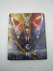 PS4 Xbox One PC Anthem Pre-Order Bonus G2 Size Game Case Steelbook NO GAME