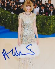 Anna Wintour signed Met Gala 8x10 photo vogue